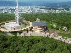 【静岡県・静岡市】日本平山頂の展望回廊が11月3日にオープン 愛称は『日本平夢テラス』(2018年10月20日号掲載)